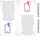 shield phone vector icon 10 eps | Shutterstock .eps vector #1310464151
