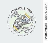 Precious Time. Sacred Hourglas...