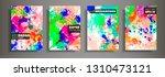 modern design a4.abstract... | Shutterstock .eps vector #1310473121