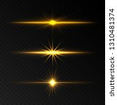lens flare effects. transparent ... | Shutterstock .eps vector #1310481374
