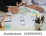ui ux designer meeting at...