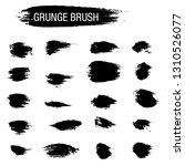 vector set of grunge brush... | Shutterstock .eps vector #1310526077