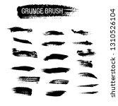 vector set of grunge brush... | Shutterstock .eps vector #1310526104