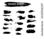 vector set of grunge brush...   Shutterstock .eps vector #1310526107