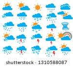 weather sign symbol set of...