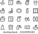 bold stroke vector icon set  ... | Shutterstock .eps vector #1310590181