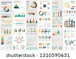 infographic elements data... | Shutterstock .eps vector #1310590631