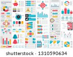 infographic elements data... | Shutterstock .eps vector #1310590634