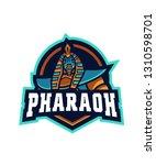 pharaoh e sports logo   Shutterstock .eps vector #1310598701