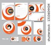 corporate identity branding... | Shutterstock .eps vector #1310604434