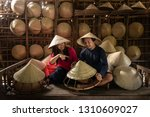 asian couple traveler craftsman ... | Shutterstock . vector #1310609027