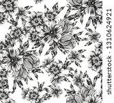flower print. elegance seamless ...   Shutterstock .eps vector #1310624921