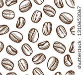 drink coffee beans sketch... | Shutterstock .eps vector #1310653067