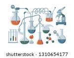 concept of chemical or biology...