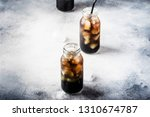 healthy food and drink concept  ... | Shutterstock . vector #1310674787