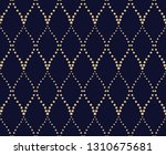 the geometric pattern with wavy ... | Shutterstock .eps vector #1310675681