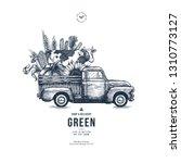 farm fresh delivery design... | Shutterstock .eps vector #1310773127