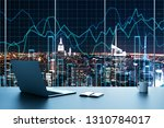 trade and investment concept.... | Shutterstock . vector #1310784017