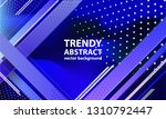 geometric abstract background... | Shutterstock .eps vector #1310792447