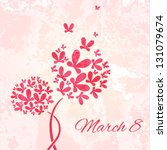 Minimalist Card On March 8 Wit...
