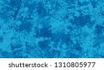 halftone grunge dotted rough... | Shutterstock .eps vector #1310805977