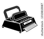 fax machine icon. simple... | Shutterstock .eps vector #1310810087