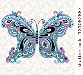 decorative fantasy vintage... | Shutterstock .eps vector #131082887