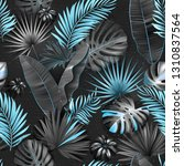 seamless tropical pattern....   Shutterstock .eps vector #1310837564