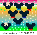 Hand Drawn Background Mickey...