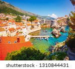 splendid view at famous... | Shutterstock . vector #1310844431
