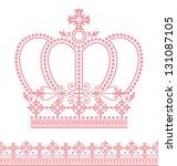crown | Shutterstock .eps vector #131087105