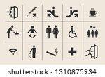 vector set of various... | Shutterstock .eps vector #1310875934