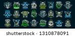 set of military emblems.... | Shutterstock .eps vector #1310878091