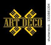 geometric ornamental retro...   Shutterstock .eps vector #1310881304