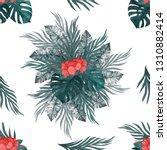 watercolor seamless pattern... | Shutterstock . vector #1310882414