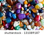 many precious stones in the... | Shutterstock . vector #131089187