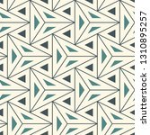 contemporary geometric pattern. ... | Shutterstock .eps vector #1310895257