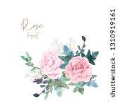 decorative corner composition... | Shutterstock .eps vector #1310919161