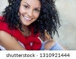 bright beautiful woman | Shutterstock . vector #1310921444