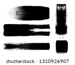 grunge paint roller . vector... | Shutterstock .eps vector #1310926907