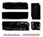 grunge paint roller . vector... | Shutterstock .eps vector #1310926934