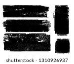 grunge paint roller . vector... | Shutterstock .eps vector #1310926937