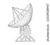 antenna satellite dish... | Shutterstock .eps vector #1310928947