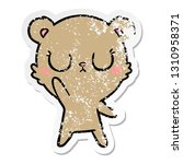 distressed sticker of a... | Shutterstock .eps vector #1310958371