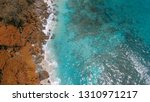 mountains of seychelles  aerial ... | Shutterstock . vector #1310971217