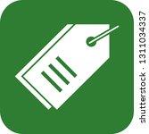 vector tag icon | Shutterstock .eps vector #1311034337