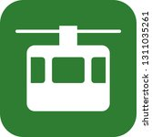 vector lift icon  | Shutterstock .eps vector #1311035261