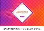 abstract pink and orange... | Shutterstock .eps vector #1311044441