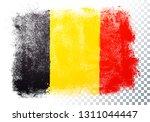 isolated belgium flag vector... | Shutterstock .eps vector #1311044447