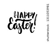 happy easter   spring holidays... | Shutterstock .eps vector #1311053981
